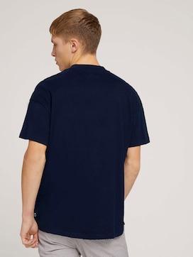 loose stand-up collar t-shirtmade with organic cotton  - 2 - TOM TAILOR Denim