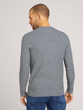 Basic knitted sweater - 2 - TOM TAILOR