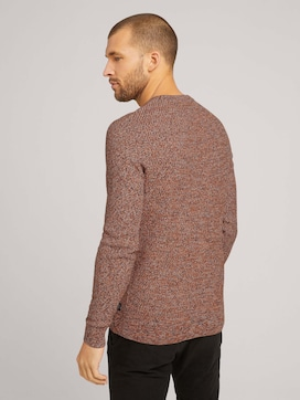 Basic Strickpullover mit Bio-Baumwolle - 2 - TOM TAILOR