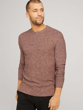 Basic Strickpullover mit Bio-Baumwolle - 5 - TOM TAILOR