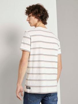 T-Shirt mit Streifenmuster - 2 - TOM TAILOR Denim