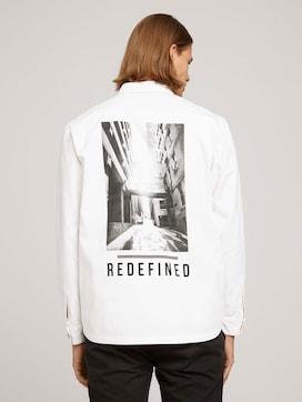Foto Print Overhemd - 2 - TOM TAILOR Denim