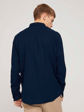 Finely textured shirt made with organic cotton  - 2 - TOM TAILOR Denim
