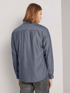 Fein strukturiertes Hemd mit Bio-Baumwolle - 2 - TOM TAILOR Denim
