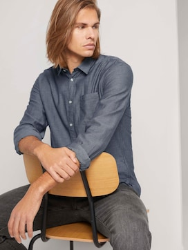 Finely textured shirt - 5 - TOM TAILOR Denim