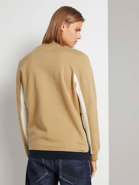 Sweatshirt im Colour Blocking - 2 - TOM TAILOR Denim