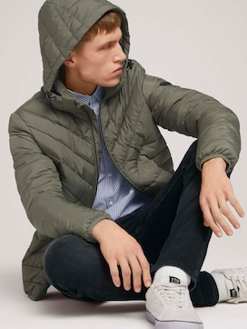 Lightweight Jacke mit abnehmbarer Kapuze - 5 - TOM TAILOR Denim