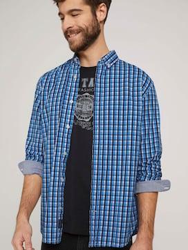 Check stretch shirt - 5 - TOM TAILOR