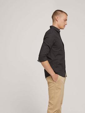 Slim Fit Hemd mit Struktur - 5 - TOM TAILOR