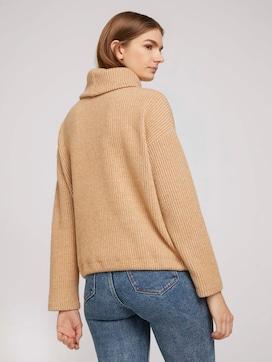 Sweater met coltrui in melange look - 2 - TOM TAILOR Denim