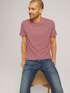 T-Shirt mit Streifenmuster - 5 - TOM TAILOR