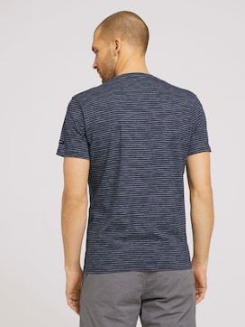 T-Shirt mit Streifenmuster - 2 - TOM TAILOR