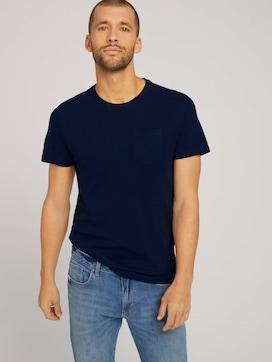 Getextureerd T-shirt - 5 - TOM TAILOR