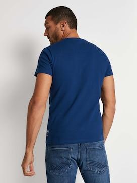 Strukturiertes T-Shirt - 2 - TOM TAILOR