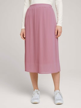 Pleated midi skirt - 1 - TOM TAILOR Denim