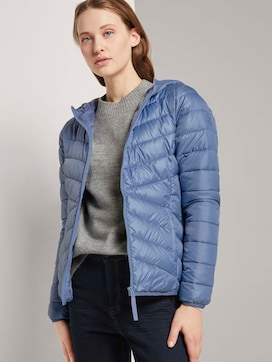 Lightweight Steppjacke mit Kapuze - 5 - TOM TAILOR Denim