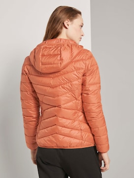 Lightweight quilted jacket with a hood - 2 - TOM TAILOR Denim