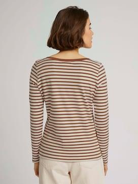 Gestreept shirt met lange mouwen - 2 - TOM TAILOR Denim