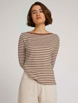 Gestreept shirt met lange mouwen - 5 - TOM TAILOR Denim
