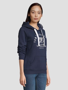 Hoodie with a print - 5 - TOM TAILOR Denim