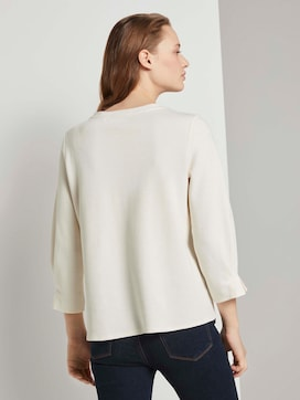 Sweatshirt met mouwdetail - 2 - TOM TAILOR Denim