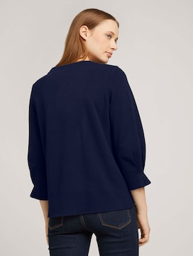 Sweatshirt mit Ärmeldetail  mit Bio-Baumwolle    - 2 - TOM TAILOR Denim
