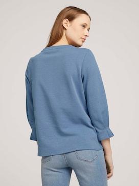 Sweatshirt mit Bio-Baumwolle  - 2 - TOM TAILOR Denim
