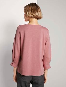 Sweatshirt met mouwdetail met biologisch katoen  - 2 - TOM TAILOR Denim