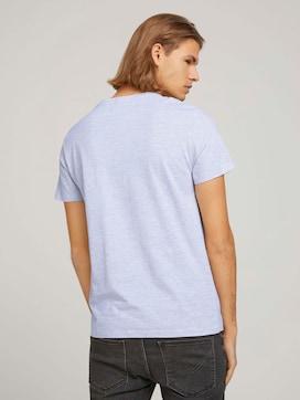 strukturiertes T-Shirt mit Bio-Baumwolle - 2 - TOM TAILOR Denim