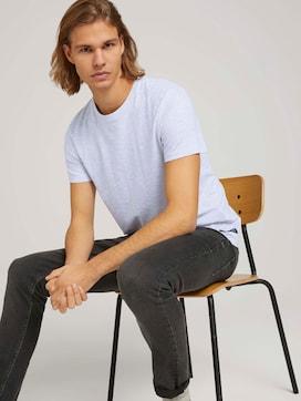 strukturiertes T-Shirt mit Bio-Baumwolle - 5 - TOM TAILOR Denim
