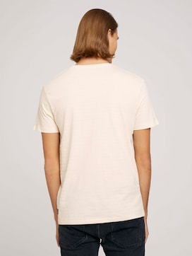 structured  T-shirt made with organic cotton   - 2 - TOM TAILOR Denim