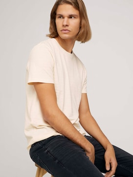 structured  T-shirt made with organic cotton   - 5 - TOM TAILOR Denim