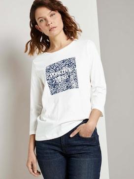 Fotoprint Shirtmet biologisch katoen  - 5 - TOM TAILOR