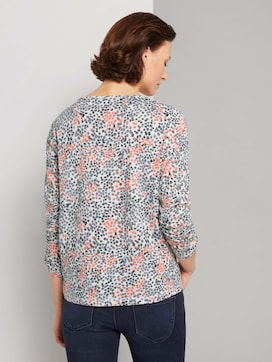 Patterned long-sleeved shirt - 2 - TOM TAILOR