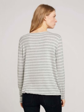 Striped long-sleeved shirt - 2 - TOM TAILOR