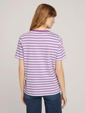 Gestreiftes T-Shirt aus Bio-Baumwolle - 2 - TOM TAILOR