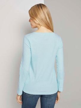 Gestreiftes T-Shirt mit Bio-Baumwolle - 2 - TOM TAILOR