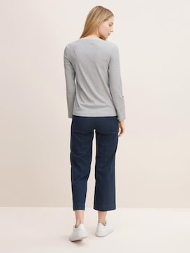 Gestreiftes Henley Shirt - 2 - TOM TAILOR