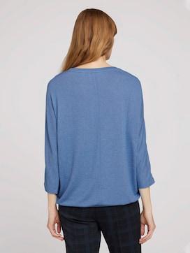 Gemêleerd overhemd met elastische tailleband - 2 - TOM TAILOR