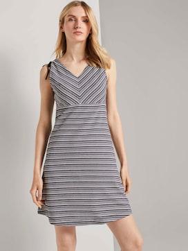 Kurzes Jerseykleid mit Musterung - 5 - TOM TAILOR