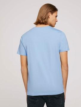 Basic T-Shirt mit Bio-Baumwolle  - 2 - TOM TAILOR Denim