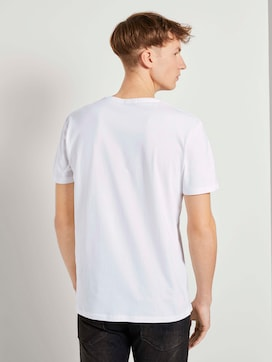 Basic T-Shirt mit Bio-Baumwolle - 2 - TOM TAILOR Denim