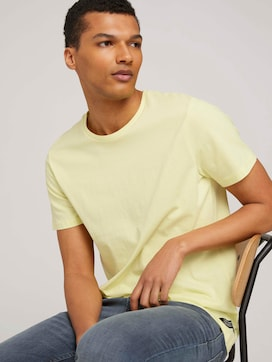 basic T-Shirt made with organic cotton  - 5 - TOM TAILOR Denim