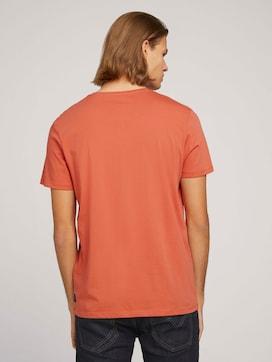 basic T-Shirt made with organic cotton  - 2 - TOM TAILOR Denim