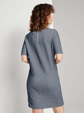 Strukturiertes T-Shirt Kleid - 2 - TOM TAILOR