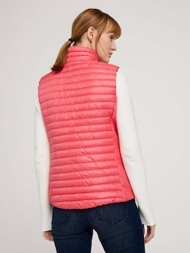 Quilted lightweight vest - 2 - TOM TAILOR
