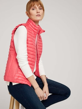 Quilted lightweight vest - 5 - TOM TAILOR