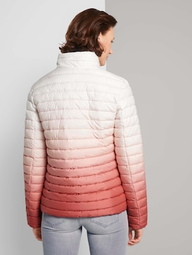 Lightweight quilted jacket with a gradient - 2 - TOM TAILOR