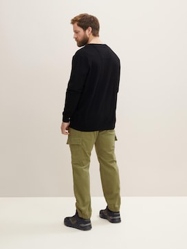 Basic Pullover mit Logo-Stickerei - 2 - Men Plus