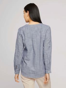 Henley blouse met textuur - 2 - TOM TAILOR